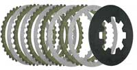 Buell Blast - Kevlar Friction Plates, Steel Plates & Diaphragm Spring